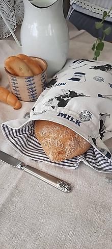 Úžitkový textil - Veľké dvojvrstvové vrecko, ktoré vyčarí úsmev - 13579784_