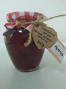 Potraviny - Čerešňový džem s veľkými kúskami ovocia - 13580378_