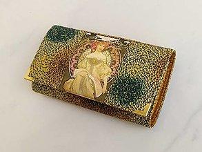 Peňaženky - Diana  - 17cm na spoustu karet - peněženka 17 cm, na spoustu karet - 13579787_