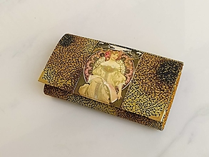 Peňaženky - Diana II. - 17 cm i na karty - 13579796_