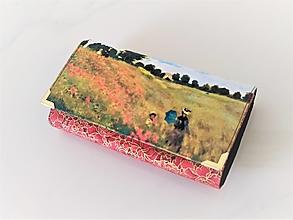 Peňaženky - Vlčí máky - 17cm na spoustu karet - peněženka 17 cm, na spoustu karet - 13579843_