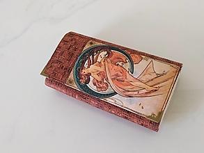 Peňaženky - Laura  - 17cm na spoustu karet - peněženka 17 cm, na spoustu karet - 13579872_
