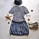 Sukne - Balonová sukně Fish - Výprodej - 13580059_