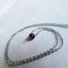 Náhrdelníky - Achátový - náhrdelník - 13585885_