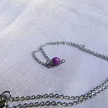 Náhrdelníky - Jadeitový - náhrdelník - 13586007_