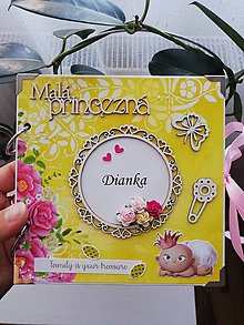 Papiernictvo - Fotoalbum pre princeznú - 13584321_