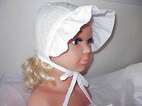 Detské čiapky - letný čepček - 13583754_