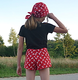 Detské oblečenie - Set Červená rebelka - 13587897_