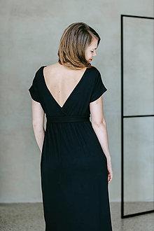 Šaty - Šaty Black Switch - 13586665_