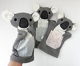 Hračky - Maňuška koala - Na objednávku - 13588246_
