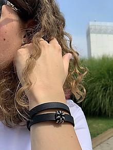 Náramky - Negro double bracelet - 13588705_
