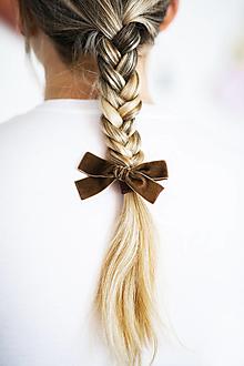 Ozdoby do vlasov - Gumičky Velvetky - 13590189_