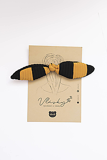 Ozdoby do vlasov - Usilovná včielka vrúbkovaná - 13591019_
