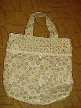 """Nákupné tašky - Handmade látková patchwork kabelka """"nákupná"""" - 13590550_"""