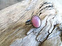Prstene - Strieborny prsteň Ag925 Opál - 13590537_