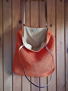 Veľké tašky - oranžová - 13591576_