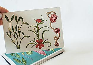 """Papier - Pohľadnica """" Botanicum """" Parasitic plants - 13590062_"""