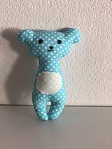 Hračky - zvieratko do rúčky (maco usko) - 13589501_