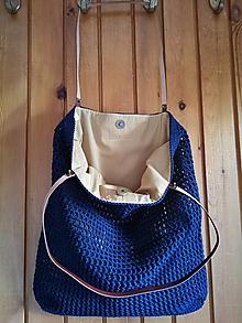 Veľké tašky - tmavomodrá - 13594033_