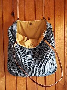 Veľké tašky - bledomodrá - 13594053_
