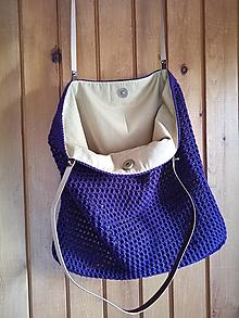 Veľké tašky - bordová - 13594064_
