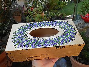 Krabičky - Levanduľový venček - 13593481_