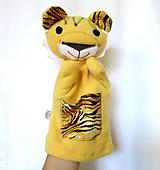 Maňuška tiger (so žltým kožúškom)
