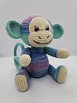 Hračky - Háčkovaná opička - 13596668_