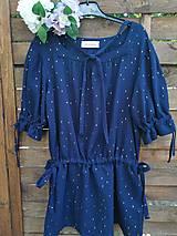 Šaty - Šaty z mušelinu - CELEBRATE LIGHT BLUE - 13596235_