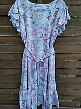 Šaty - Letné šaty Milano ruže Siena - 13596249_