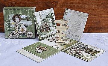Krabičky - Darčeková krabička na peniaze pre turistu - 13597249_
