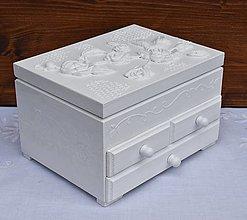 Krabičky - Šperkovnica - 13598504_
