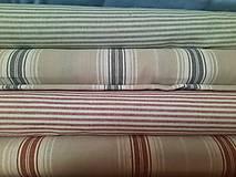 Úžitkový textil - Podsedáky pruhovane - 13601202_