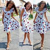 Šaty - Dámske šaty Roses - 13601330_