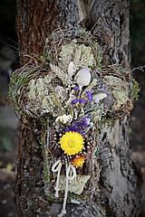 Dekorácie - Krížik na hrob - 13600694_