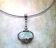 Náhrdelníky - Šperk s larimarem - 13599933_