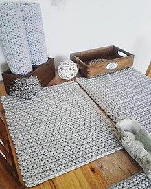 Úžitkový textil - Prestieranie svetlosede - 13599012_