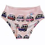 Detské oblečenie - Dievčenské nohavičky mikrobusy (116) - 13600007_