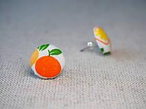 Náušnice - Oranges - 13601298_