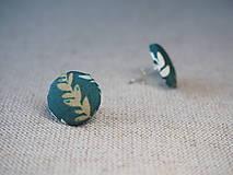 Náušnice - Leaves - 13601301_