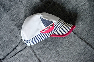Detské čiapky - Plážová šiltovka s menom pink - 13599129_