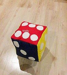 Hračky - kocka - 13601307_