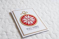 Papiernictvo - Červené Vianoce 5 - 13601609_