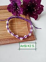 Náramky - K2 5. Ruženín - 13602345_