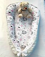 Textil - Hniezdo pre novorodeniatko - 13601400_