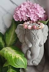 Náramky - 🦄Pastelový Shamballa náramok z polodrahokamov 🎠 - 13601518_