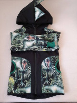 Detské oblečenie - Softshellová bunda koník - 13602992_