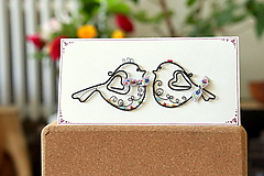 Papiernictvo - svadobná pohľadnica - 13602378_