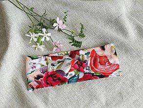 Ozdoby do vlasov - Čelenka ,plná ruží - 13605323_