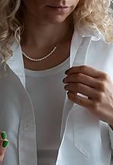Šperky - perlový unisex náhrdelník - 13606025_